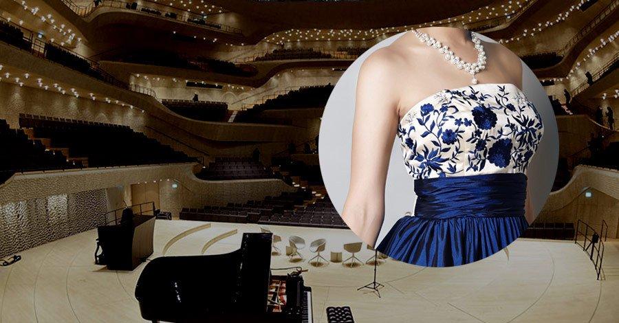 コンサートに向けた演奏会ドレスの準備と管理