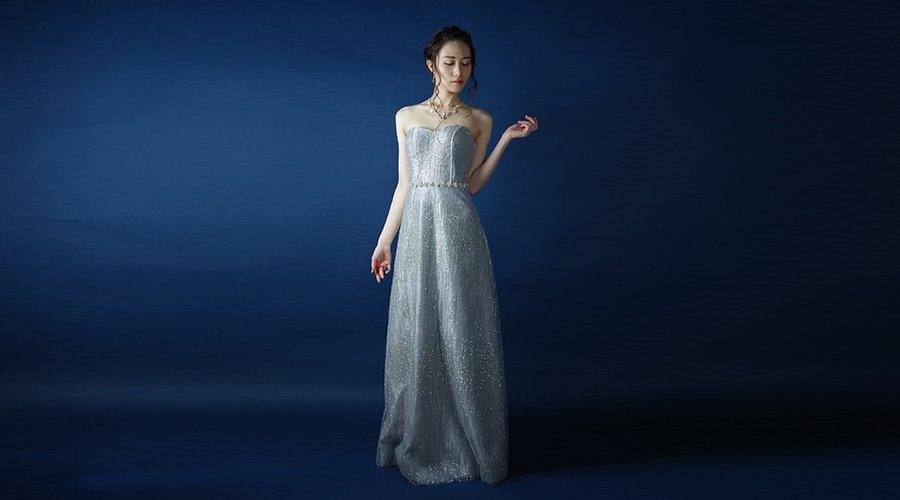 演奏会ドレスの定番デザイン!「Aラインドレス」