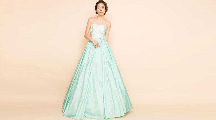 緑色の演奏会向けカラードレスの特徴について