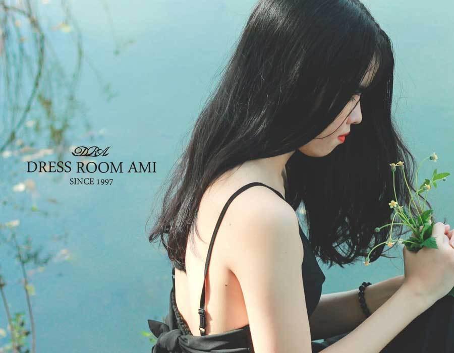 黒の演奏会ドレスが合う髪型や髪色