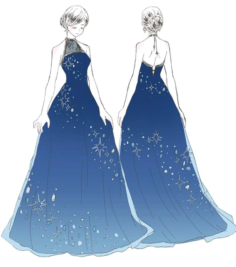 ドレスルームアミ演奏会ドレスデザイン画コンテスト2018ドレスルーム
