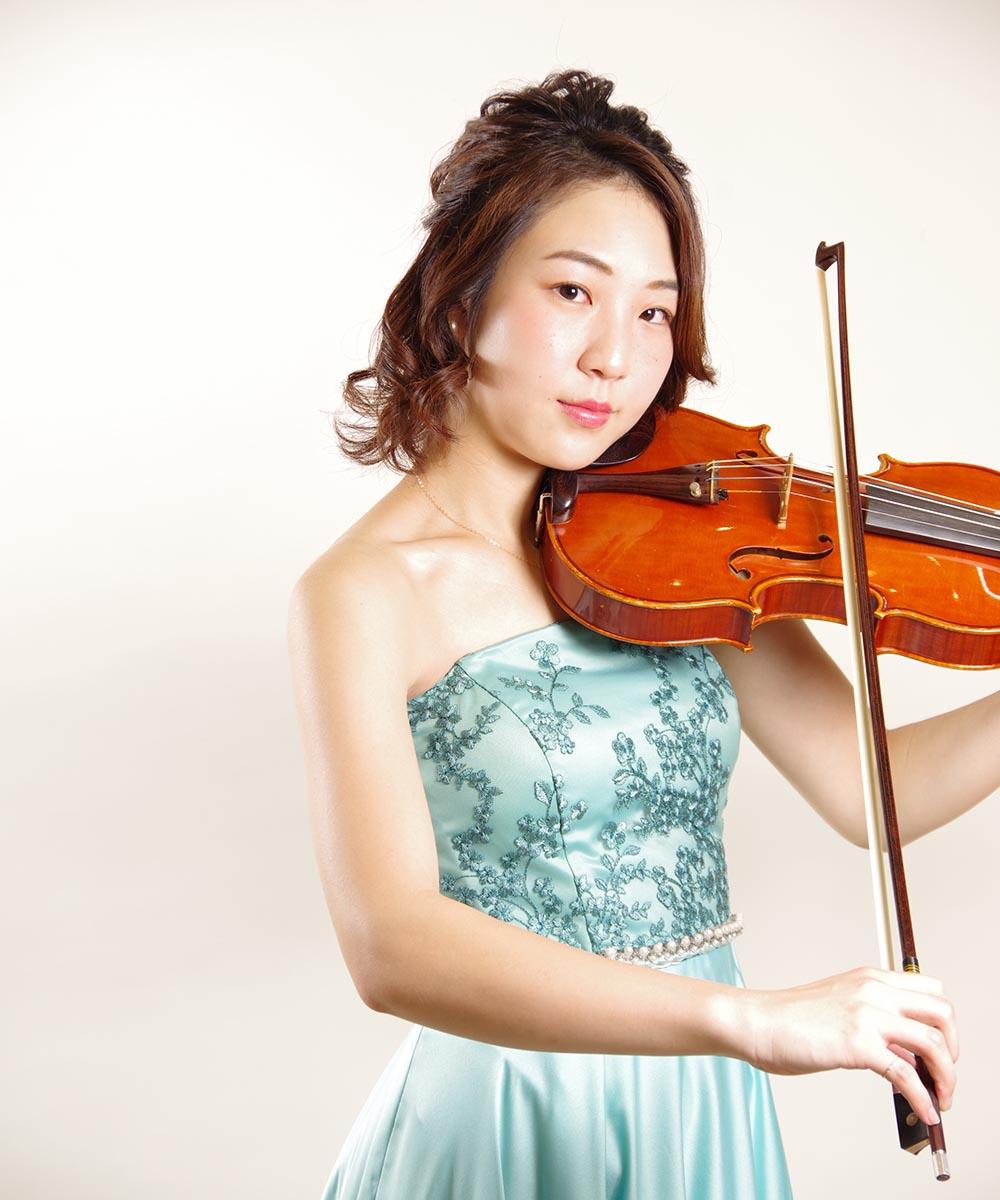 音大生のバイオリニストのお客様のプロフィール写真